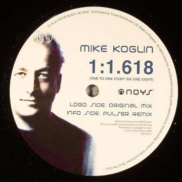 Mike Koglin - 1 1.618 (One To One Point Six One Eight)
